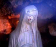 La Madonna lacrima a Civitavecchia