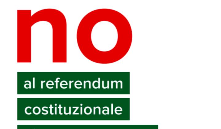 NO AL REFERENDUM COSTITUZIONALE!!!