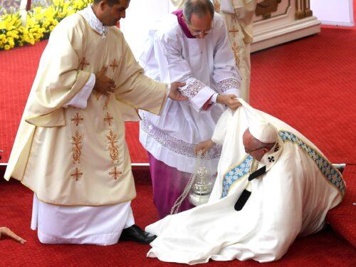 Papa Francesco cadrà in malo modo…..a Medjugorje!!!